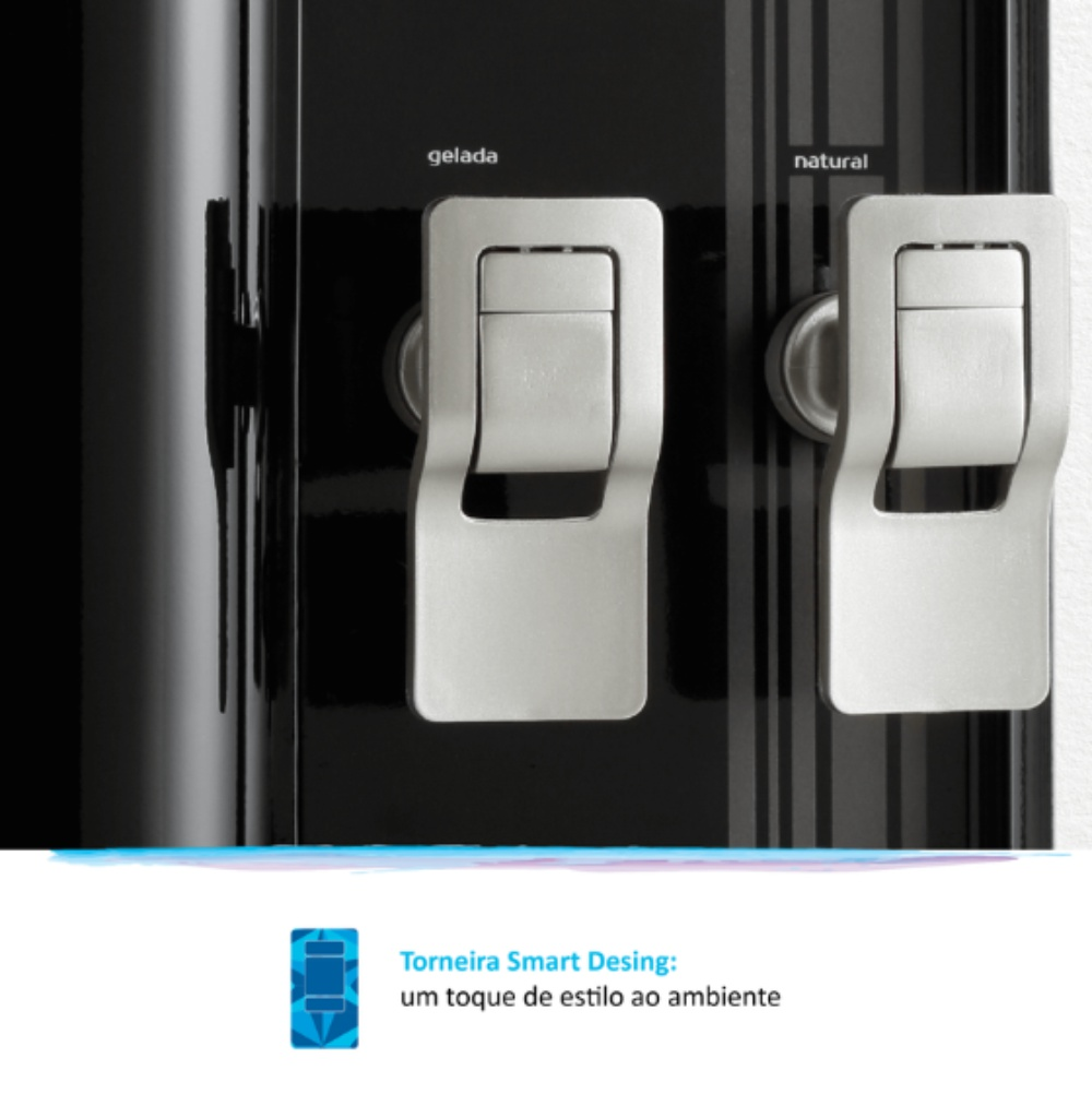 IBBL FR600 Exclusive Preto torneira smart