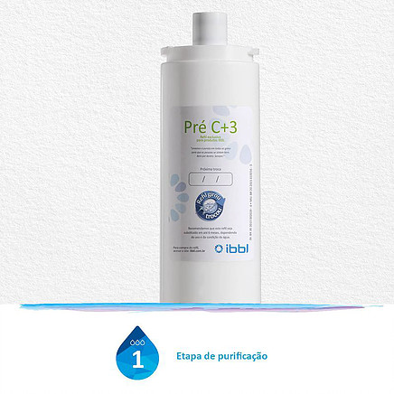 Refil Pré C+3 1 etapa de purificação