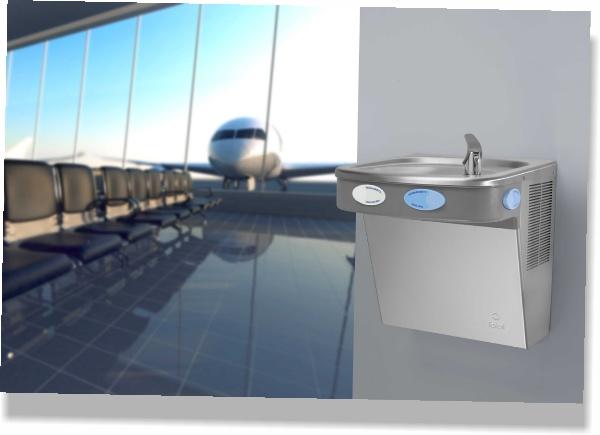 Purificador de Água para Aeroportos